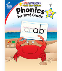 Other strategies have been included to allow for a comprehensive review, bringing letter blending + sight words + phonics | reading lessons for kids. Carson Dellosa Phonics For First Grade Workbook 64pgs Home Workbooks Carson Dellosa Publishing 9781604187854 Amazon Com Books