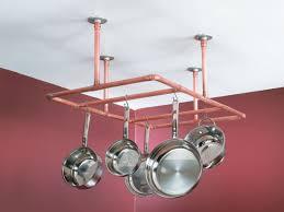 construct a copper pipe pot rack quarto homes