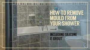 how to remove mould from shower