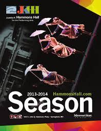 Juanita K Hammons Hall For The Performing Arts 2013 2014