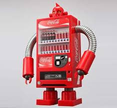 Robot Vending Machine Beauteous The Amazing Coke Robots Vending Machines Walyou