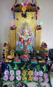 homemade ganpati decoration ideas decorations pinterest