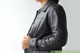 image titled break in a leather jacket step 2