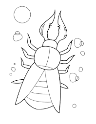 Bugs Bunny Coloring Pages clip art love bug coloring pages breadedcat free printable on love bug printable