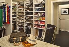 Walk Closet Design Built Ins Shoe Shelves Desk Vanity