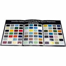 Details About Llewellyn Ryland Standard Colour Card Range