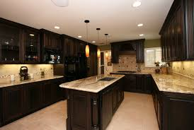 elegant kitchen backsplash for dark cabinets kitchen backsplash ideas dark cabinets home design ideas