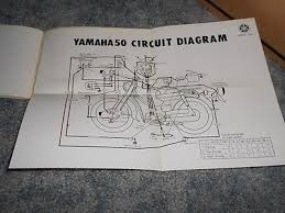 vintage yamaha u 5 50 moped owner s manual factory original used vintage yamaha u 5 50 moped owner s manual factory original used 7