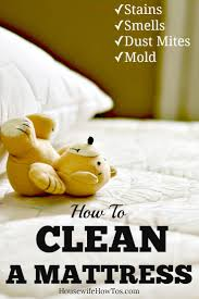 How To Clean A Mattress: Deodorize, Remove Stains, And Freshen