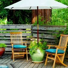 outdoor umbrella holder. This Potted Plant Umbrella Stand Can Be Made Using The Concepts In Our Video \ Outdoor Holder C