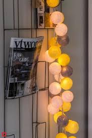 Cotton Ball Lights Lichtslinger Sunshine 20 Lampjes Lus
