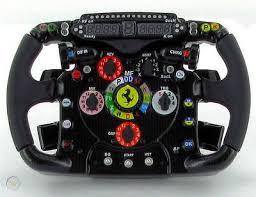 Thrustmaster ferrari f1 steering wheel. Ferrari F150 Italia 2011 F1 1 4 Scale Steering Wheel 1476780048