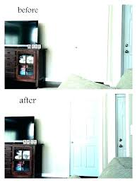 P Plain White Bedroom Door Painting Doors  Ceramic Interior