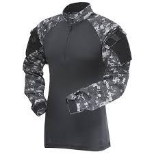 Tru Spec Jacket Sizing Chart Tru Spec Tru 1 4 Zip Combat Shirt Long Sleeve Mens Size Large Length Regular Polyester Cotton Ripstop Urban Digital Black