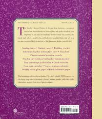 Teacher Record The Teachers Lesson Planner And Record Book Revised Edition With Cd Rom