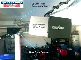 garage door opener adjust adjusting genie garage door opener genie change code genie garage door opener garage door opener adjust