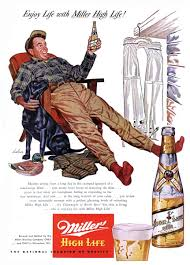 Old Milwaukee Light Pin Up Series Pin On Alcohol Cocktails Midcentury Vintage Ads