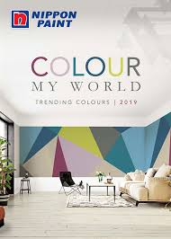 Ici Color Chart Malaysia Colour My World 2019 Catalogue Nippon Paint Singapore