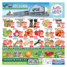 ample foods flyer welcome to skyland supermarket