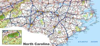 north carolina state maps  usa  maps of north carolina (nc)