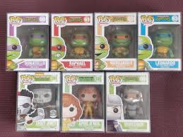 Find many great new & used options and get the best deals for 2019 topps ninja turtles mouser sketch 1 of 1 trent westbrook teenage mutant box at the best online prices at ebay! Teenage Mutant Ninja Turtles Set Tmnt Funko Pops Hobbies Toys Toys Games On Carousell