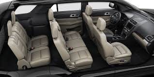 2017 explorer limited leather seats