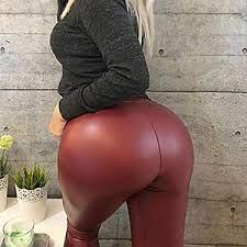 Shiny Spandex Leggings Big Ass