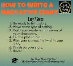 how to write a narrative essay ly