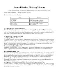 Owners Annual Meeting Minutes Template Association Format