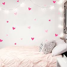 easy wall decoration heart wall sticker baby nursery love heart wall decal kids room easy wall easy wall decoration