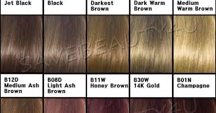 Clairol Hair Color Chart Images Bavarian Esciencetech Gq