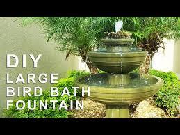 diy bird bath fountain it would save