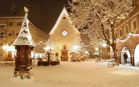 christmas town wallpaper. Simple Christmas Christmas Village For Town Wallpaper T
