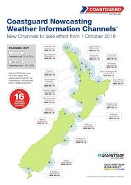 Vhf Spectrum Chart New Zealand Vhf Marine Radio Channels Restrictions Usage