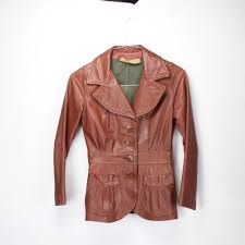 vintage women s riding jacket brown leather handmade full lining pleated 1930 s 1940 s spring fall fashion automobilist