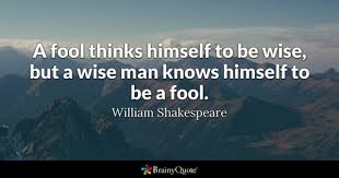 Fool Quotes New Fool Quotes BrainyQuote