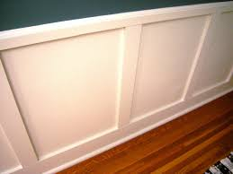 faux wainscoting diy