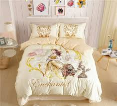 large size of 100 cotton princess bedding set girls rose pattern duvet comforter sizes in inches
