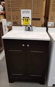 Lowe S Bathroom Vanities On Clearance White 126 65 Espresso 118 15 Holiday Deals And More Com