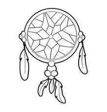 Dream Catcher Outline Dreamcatcher icon outline style Royalty Free Vector Image 42