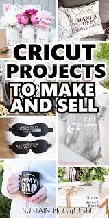 creative cricut projects to sell