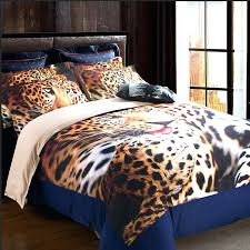animal print king size comforter sets new arrival leopard animal print bedding sets for home