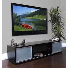 Audio and Video Credenza with Storage - holds up to 80 Inch TV Walmart.com