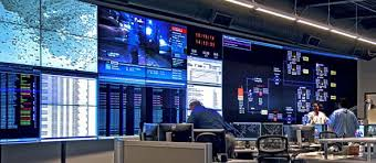 Small Picture Control Room Video Walls Displays Planar