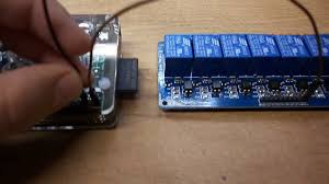 how to home automation connect 8 channel relay raspberry pi you
