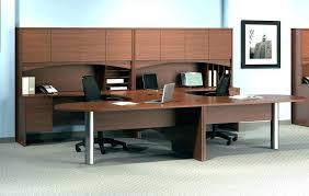 t shaped office desk. U Shaped Computer Desk T Office Furniture Series Double Workstation Desks .