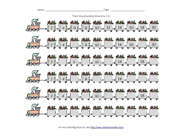 Train Skip Counting: Count by 2s Worksheet for Kindergarten - 6th ...