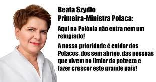 Resultado de imagem para Fotos ou imagens da primeira-ministra polaca Beata Szydlo