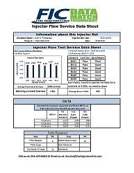 Toyota Injector Size Chart Fuel Injector Flow Testing