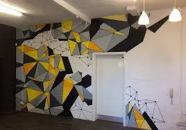 office graffiti wall. Esper Office Graffiti Wall